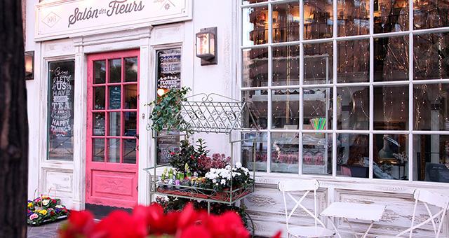 Salon de fleurs