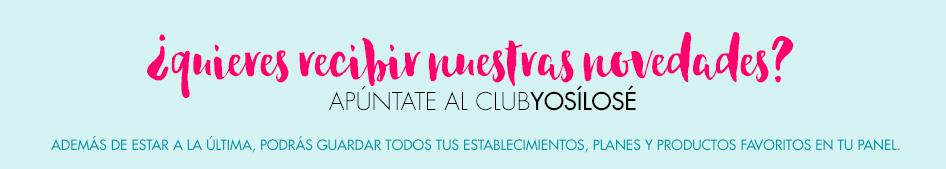 Apúntate al Club Yosílosé