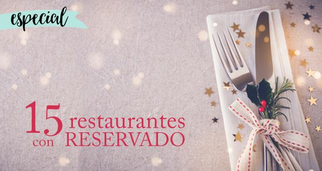 Restaurantes con reservado