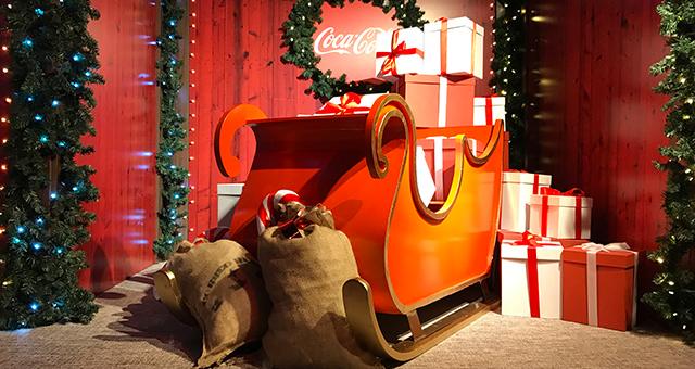Casa de Papá Noel - Cocacola