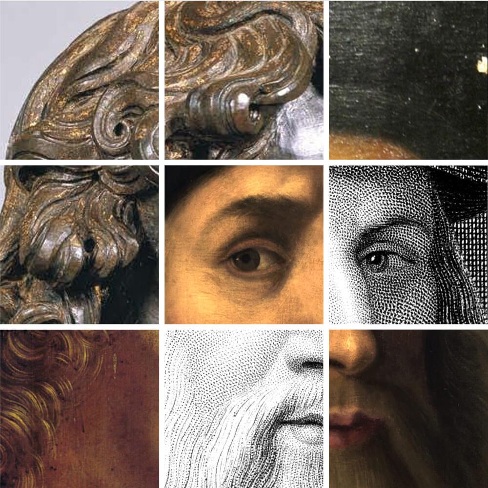 Los rostros del genio